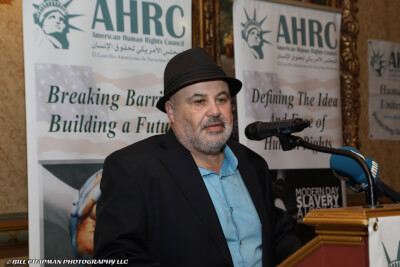 Imad Hamad is the executive director of the American Human Rights Council