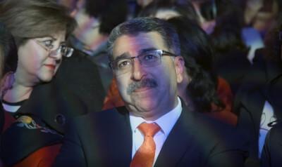 The Mayor of Ramallah, Palestine, Must Hadid. Photo courtesy of David Osit, provided by PBS POV