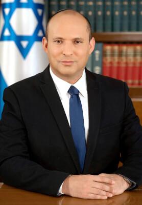 Israeli Prime Minister Naftali Bennett. Photo courtesy of Wikipedia