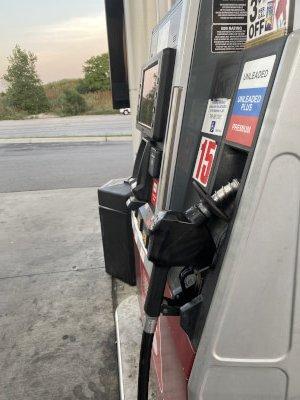 Gas station image gasoline pump. Photo courtesy of Ray Hanania