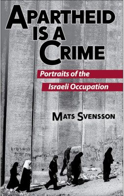 Book: Apartheid is a Crime by Mats Svensson from Cune Press