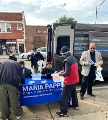 American Arab Chamber of Commerce and Cook County treasurer Maria Pappas host a 3rd Property Tax Refund Workshop for the Arab American community, this time at SANAD on Oct. 22 on 63rd Street.