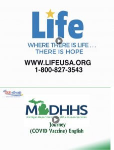 US Arab Radio partners with Life for Relief and Development to push COVID vaccinations during the month of October 2021